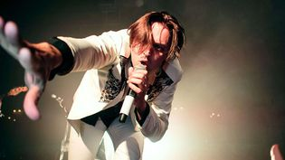 Win Butler d'Arcade Fire le 27 novembre 2013 à Blackpool (G-B)  (Danny Payne/REX/REX/SIPA)
