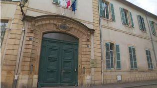 Plan extérieur du Lycée Fabertà Metz (Lorraine). (FRANCEINFO)