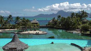 La Polynésie est un territoire ultramarin qui a beaucoup souffert de la crise sanitaire. Pendant de longs mois, les touristes étaient absents. Aujourd'hui, ils sont de retour. (CAPTURE D'ÉCRAN FRANCE 3)