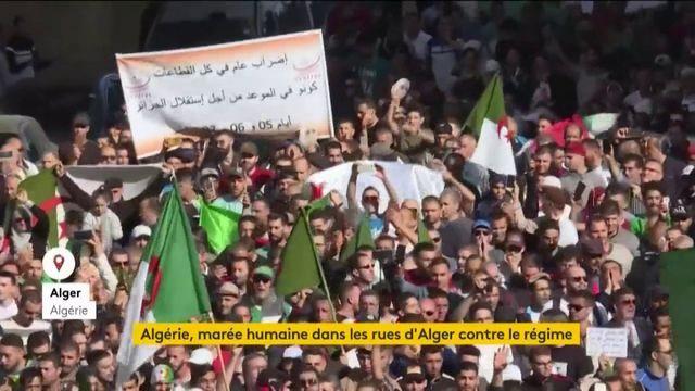 Algérie, marée humaine à Alger contre le régime
