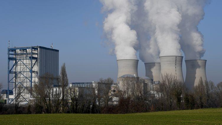 La centrale nucléaire du Bugey, dans l'Ain, le 22 janvier 2020. (MAXPPP)