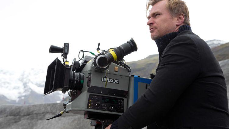 """Le réalisateur Christopher Nolan, sur le tournage d'""""Interstellar"""", le 14 septembre 2013, aux Etats-Unis. (LILO / SIPA)"""