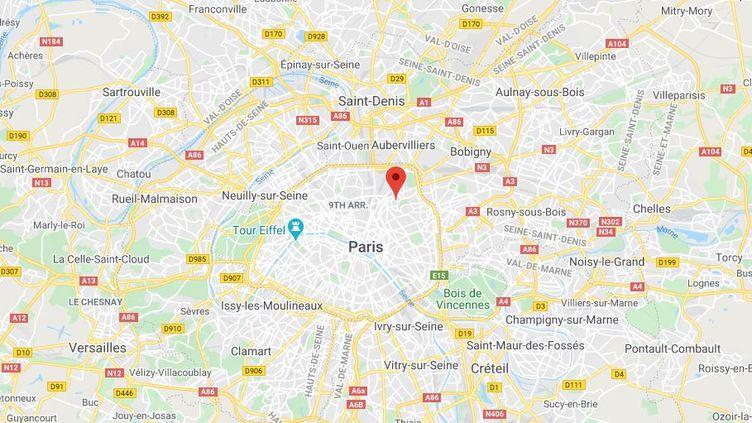 Lycée Henri Bergson (Paris). (FRANCEINFO / RADIOFRANCE)