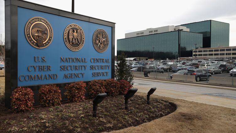 Le siège de l'agencede renseignement américaine, la NSA, à Fort Meade (Maryland), le 13 mars 2015. (CHIP SOMODEVILLA / GETTY IMAGES NORTH AMERICA / AFP)