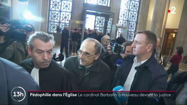 Pédophilie dans l'Église : le cardinal Barbarin devant la cour d'appel de Lyon
