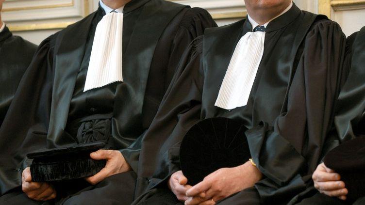 Les représentants de la profession d'avocat se sont indignés, mercredi 17 avril 2013, face au projet du gouvernement d'interdire le cumul de leur profession avec la fonction de parlementaire. (ALAIN LE BOT / PHOTONONSTOP / AFP)