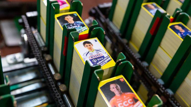 Les stickers du Tour de France par Panini sortent dans le commerce, samedi 4 mai. (PANINI)