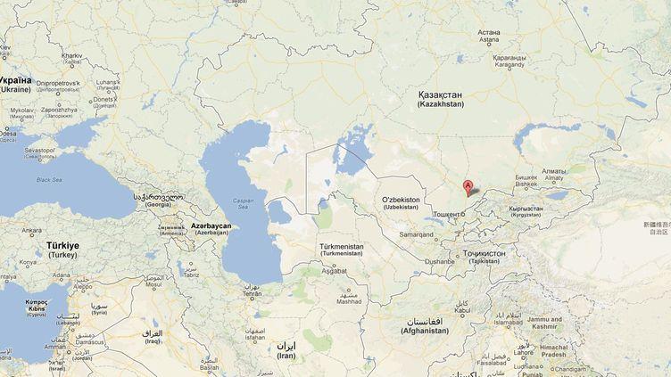 L'accident s'est produit près deChymkent, dans le sud du Kazakhstan. (GOOGLE MAPS)