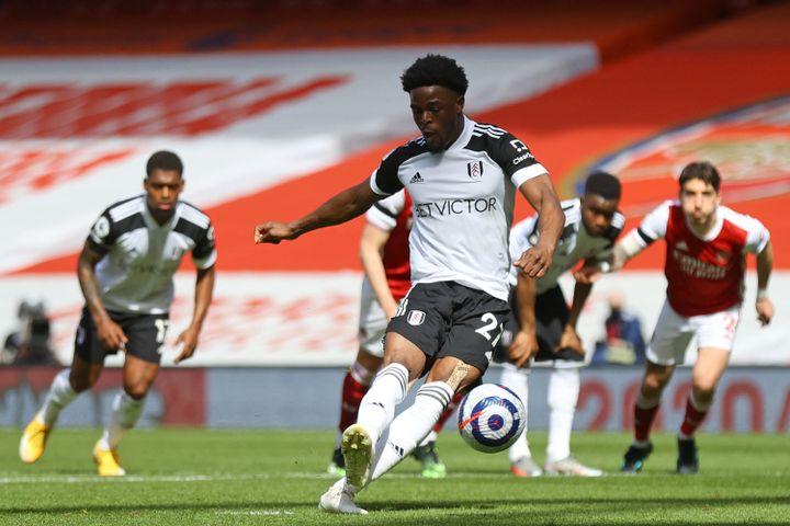 Josh Maja, prêté par Bordeaux à Fulham, réintègre le club français. (JULIAN FINNEY / AFP)