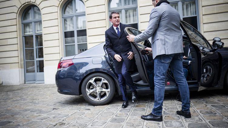 L'ancien Premier ministre, Manuel Valls, le 3 janvier 2017 à Paris. (DENIS ALLARD/REA / REA)