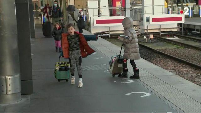 Vacances de Noël : départ dans les gares