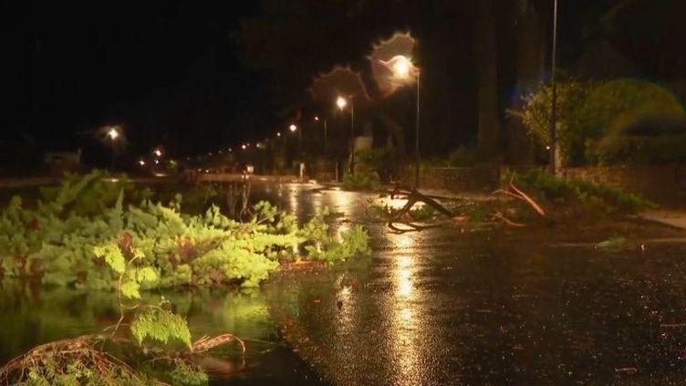 Bretagne : moins de dégâts que prévu après le passage de la tempête Alex (FRANCEINFO)