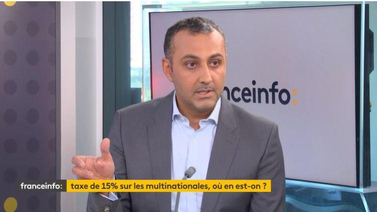 Farid Toubal, professeur d'économie à Paris-Dauphine et conseiller scientifique auCEPII, invité éco de franceinfo vendredi 8 octobre. (FRANCEINFO)