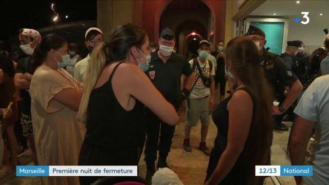 Marseille : première nuit de fermeture