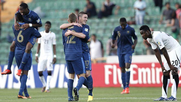 Les Bleuets en finale de la Coupe du monde 2013 (TOLGA BOZOGLU / MAXPPP)