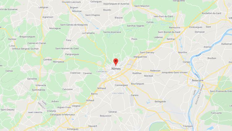 La supérette se trouve à Nîmes. (CAPTURE D'ECRAN GOOGLE MAPS)