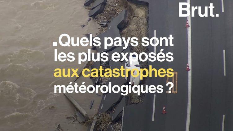 VIDEO. Ouragans destructeurs, typhons, canicules… quels pays sont les plus durement touchés ? (BRUT)