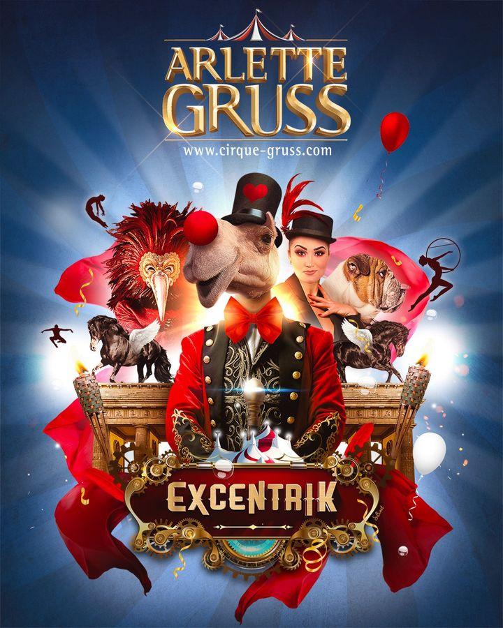 """""""ExcentriK"""", le nouveau spectacle du cirque Arlette Gruss (Cirque Arlette Gruss)"""