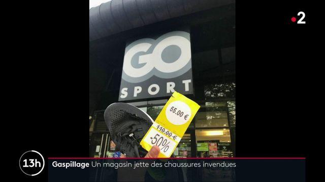 Gaspillage : un magasin Go Sport jette des chaussures invendues et suscite l'indignation