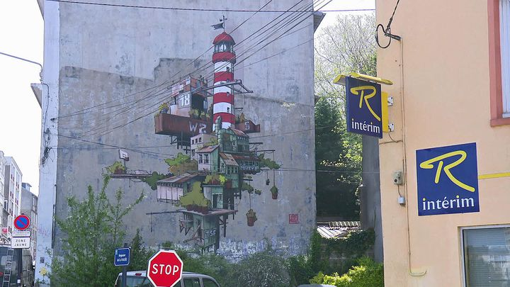 Street art à Saint-Brieuc (France 3 Bretagne)