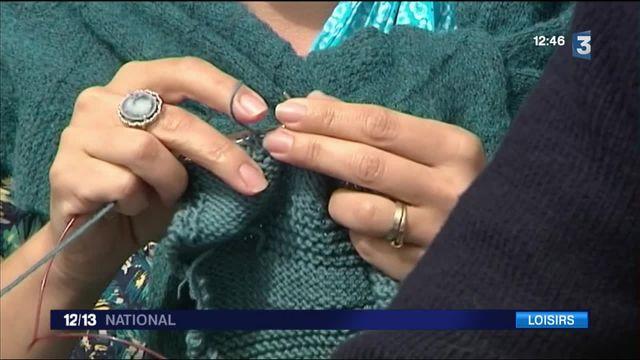 L'art du tricot devient un loisir tendance