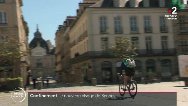 La France confinée : le nouveau visage de Rennes
