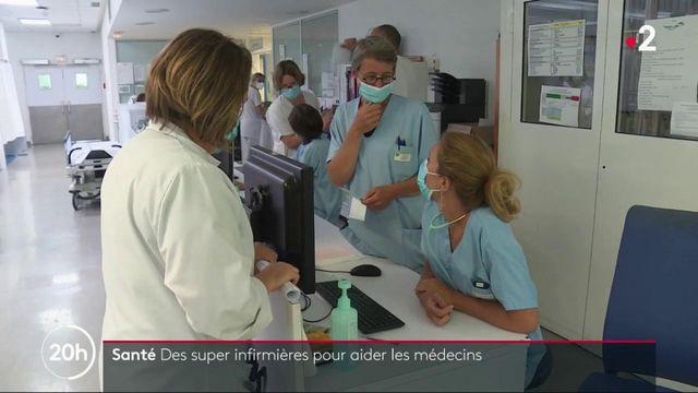Santé : des supers infirmières pour aider les médecins