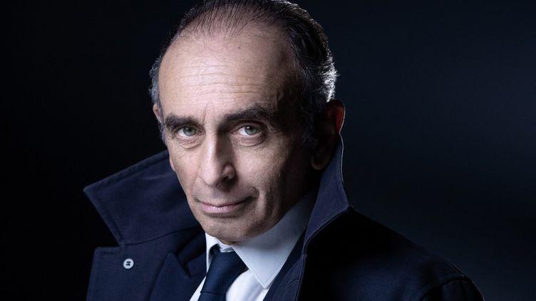 ÉricZemmour photographié le 22 avril 2021. (JOEL SAGET / AFP)