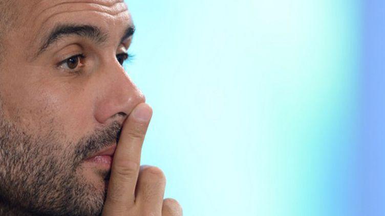 Pep Guardiola, ancien entraîneur du Barça désormais aux manettes du Bayern Munich