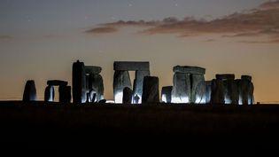 Le site de Stonehenge, dans le Wiltshire, en Angleterre, le 12 juillet 2020, à l'époque du passage de la comète Neowise (MARK KERTON / SHUTTERSTOCK / SIPA)