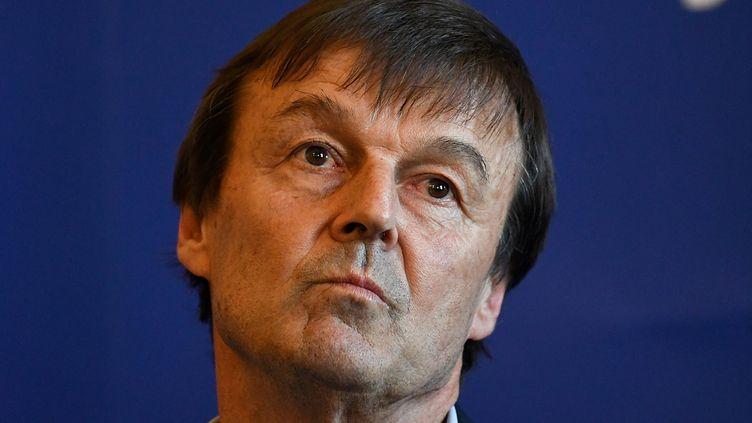 Nicolas Hulot a renoncé à plusieurs de ses convictions pendant son année passée au gouvernement. (JEAN-FRANCOIS MONIER / AFP)