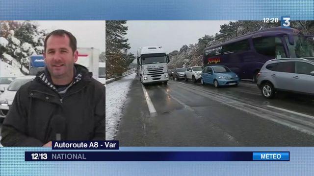 Var : circulation compliquée sur l'A8 entre Brignoles et Saint-Maximin