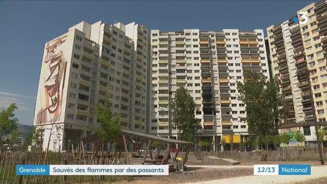 Incendie à Grenoble : ils ont sauvé des vies