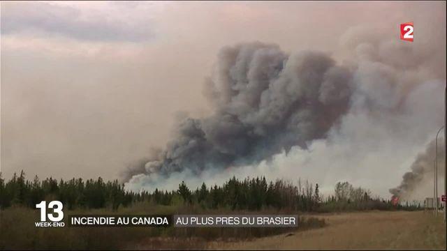 Incendie au Canada : au plus près du brasier de Fort McMurray