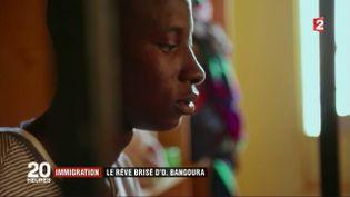 Immigration :le rêve brisé d'OusmaneBangoura (CAPTURE ECRAN FRANCE 2)