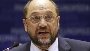 Le président du Parlement européen, Martin Schulz, àBruxelles (Belgique), le 12 novembre 2014  (YVES LOGGHE / AP/ SIPA )