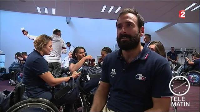 Jeux paralympiques 2016 : la délégation française en route pour Rio