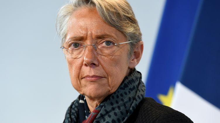 Elisabeth Borne, la ministre de la Transition écologique, à Paris, le 15 octobre 2019. (ERIC PIERMONT / AFP)