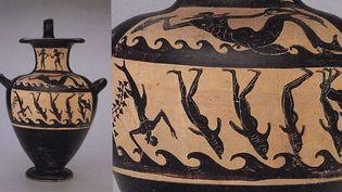 """Le """"kalpis"""" à figures noires, une poterie étrusque  (AP/SIPA)"""