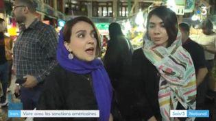 Iran, vivre avec les sanctions américaines (France 3)