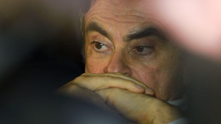 Carlos Ghosn en mars 2019. (KAZUHIRO NOGI / AFP)