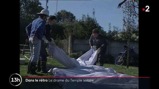 """#DansLeRétro : 48 adeptes de la secte """"l'Ordre du Temple solaire"""" sont retrouvés morts"""