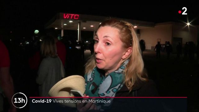Covid-19 : vives tensions en Martinique, en pleine psychose