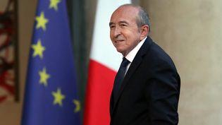 Le ministre de l'Intérieur, Gérard Collomb, à l'Elysée, le 10 septembre 2018 à Paris. (MUSTAFA YALCIN / ANADOLU AGENCY / AFP)