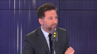 Hugues Renson,vice-présidentLREMde l'Assemblée nationale. (FRANCEINFO)