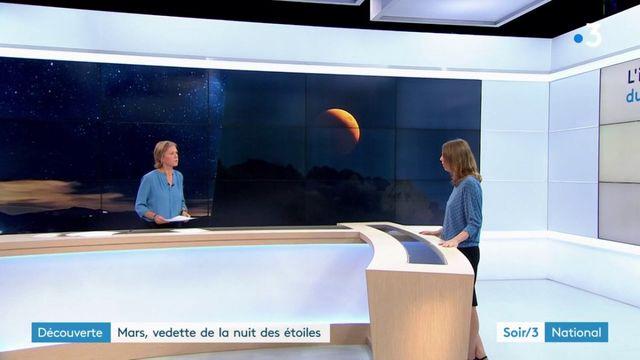 Découverte : Mars, vedette de la nuit des étoiles