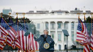 Donald Trump, le 6 janvier 2021. (MANDEL NGAN / AFP)
