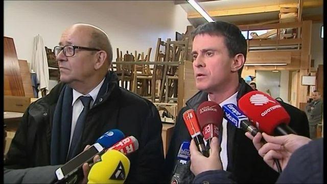 Manuel Valls réagit à la gifle reçue à Lamballe