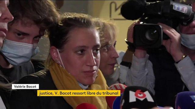 """Valérie Bacot ressort libre du tribunal, mais """"vidée mentalement et physiquement"""", assure-t-elle"""