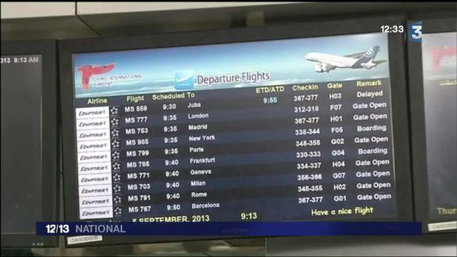Disparition du vol d'EgyptAir : l'Egypte et la Grèce font tout pour retrouver l'appareil abîmé en mer